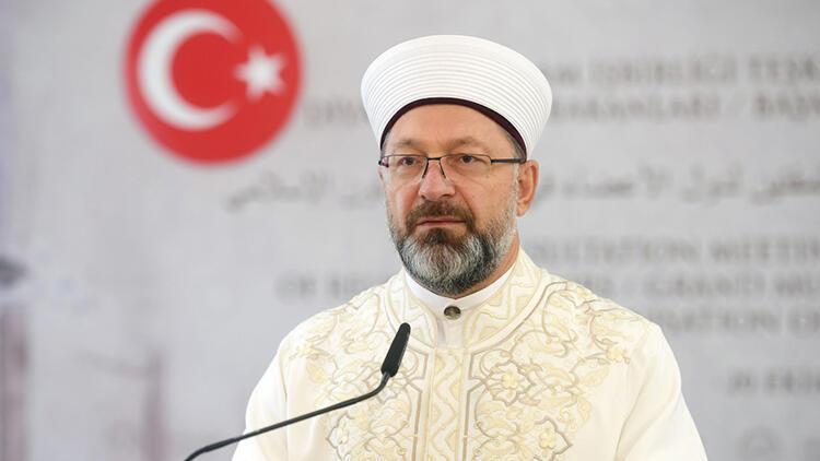 თურქეთის რელიგიურ საკითხთა დირექტორატს 2025 წლამდე ალი ერბაში უხელმძღვანელებს