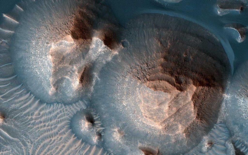 მარსზე უძველესი, ათასობით სუპერვულკანური ამოფრქვევის კვალი დააფიქსირეს — #1tvმეცნიერება