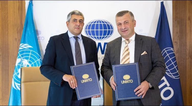 მემორანდუმი გაერო-ს მსოფლიო ტურიზმის ორგანიზაციასთან - ქართული სპორტის ფონდი თანამშრომლობის არეალს ზრდის#1TVSPORT