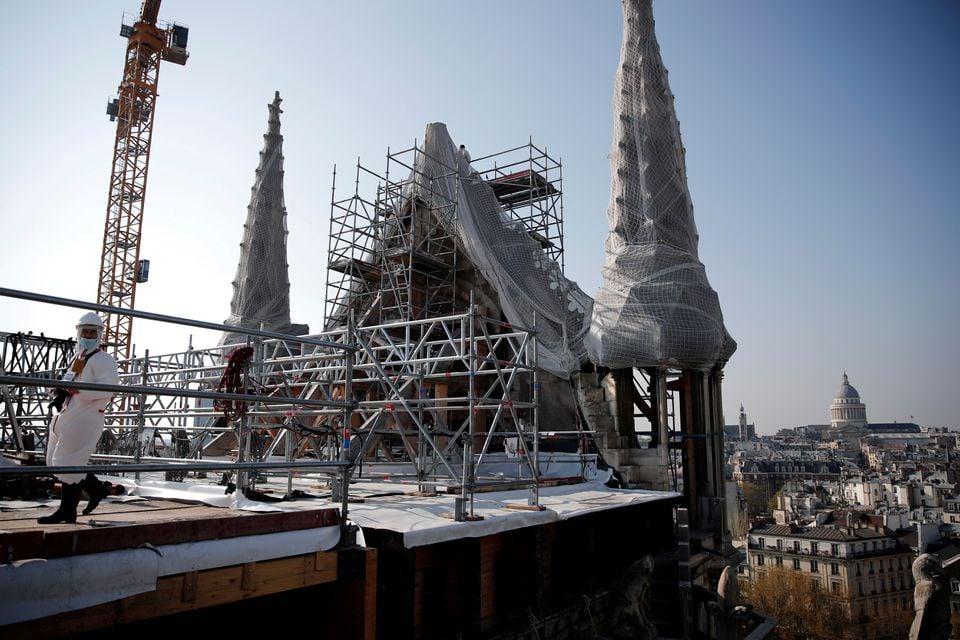 პარიზის ღვთსმშობლის ტაძრის გამაგრებითი სამუშაოები დასრულებულია