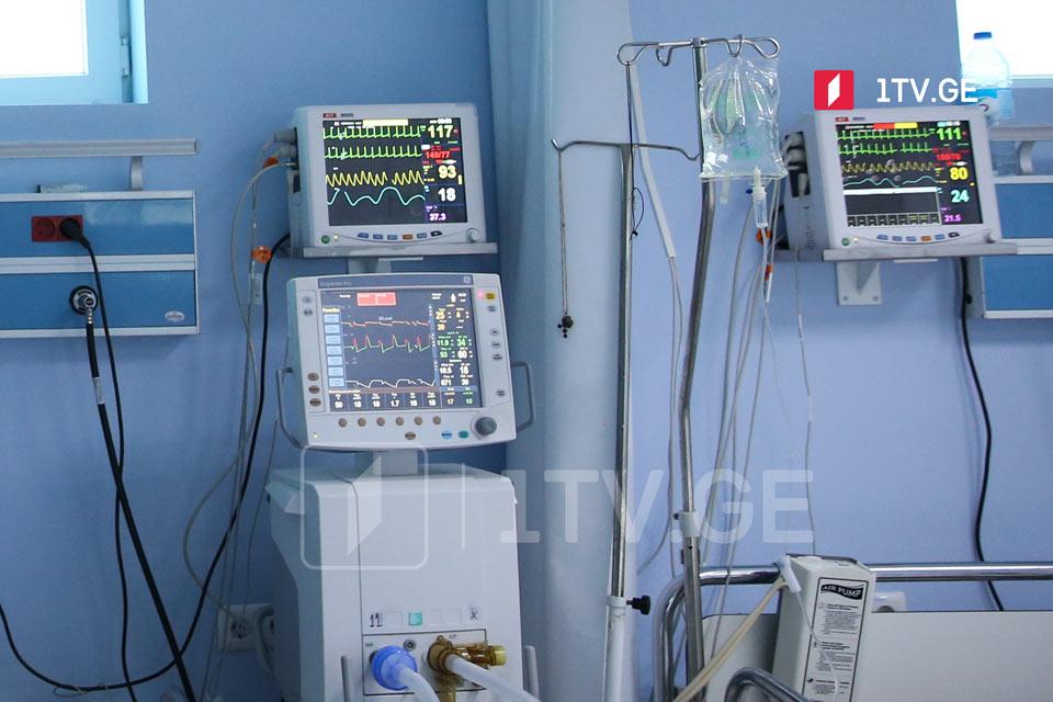 საქართველოში ბოლო 24 საათში კორონავირუსით 38 პაციენტი გარდაიცვალა