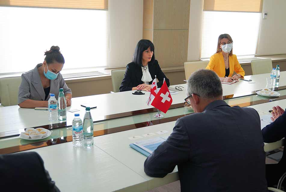 Minister for Reconciliation meets members of Swiss Department of Foreign Affairs