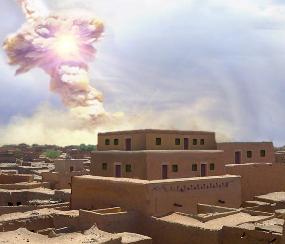 3600 წლის წინ, ასტეროიდმა ახლო აღმოსავლეთში უძველესი ქალაქი გაანადგურა, რაც სავარაუდოდ, სოდომის ამბის შთაგონება გახდა — #1tvმეცნიერება