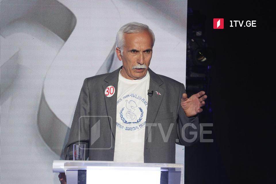 Evgeni Ghviniashvili: No kindness without spirit of peace