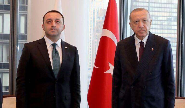 Georgian PM holds top tier meetings in New York
