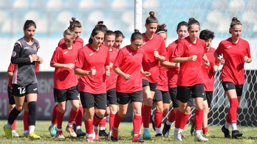 17-წლამდე გოგონათა ნაკრები ევრო 2022-ის შესარჩევისთვის ემზადება #1TVSPORT