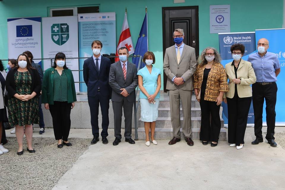 ევროკავშირი, გაერო-ს ორგანიზაციები და ჯანდაცვის სამინისტრო ციფრული ჯანდაცვის ახალ პროექტს იწყებენ