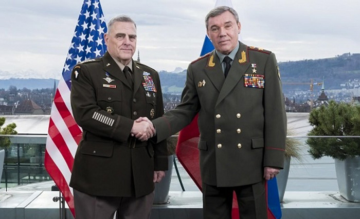 2019 წლის შემდეგ პირველად, აშშ-ისა და რუსეთის გენშტაბის ხელმძღვანელები ერთმანეთს ჰელსინკიში პირისპირ შეხვდნენ