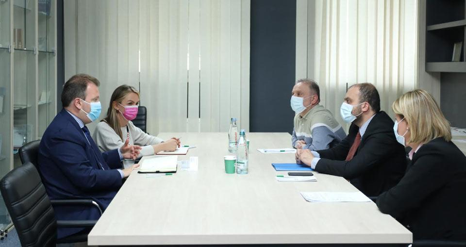 ԿԸՀ-ն հանդիպում է կայացել ազգային փոքրամասնությունների հարցերով ԵԱՀԿ գերագույն հանձնակատարի ներկայացուցչի հետ