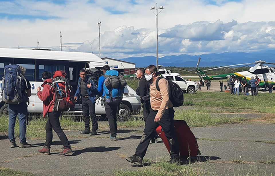 Возобновилась эвакуация из региона Тушети