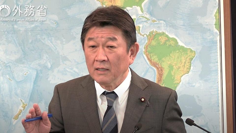 იაპონიის საგარეო საქმეთა მინისტრი აცხადებს, რომ ჩრდილოეთ კორეის ქმედებები საფრთხეს უქმნის როგორც მისი ქვეყნის, ასევე საერთაშორისო თანამეგობრობის მშვიდობასა და უსაფრთხოებას