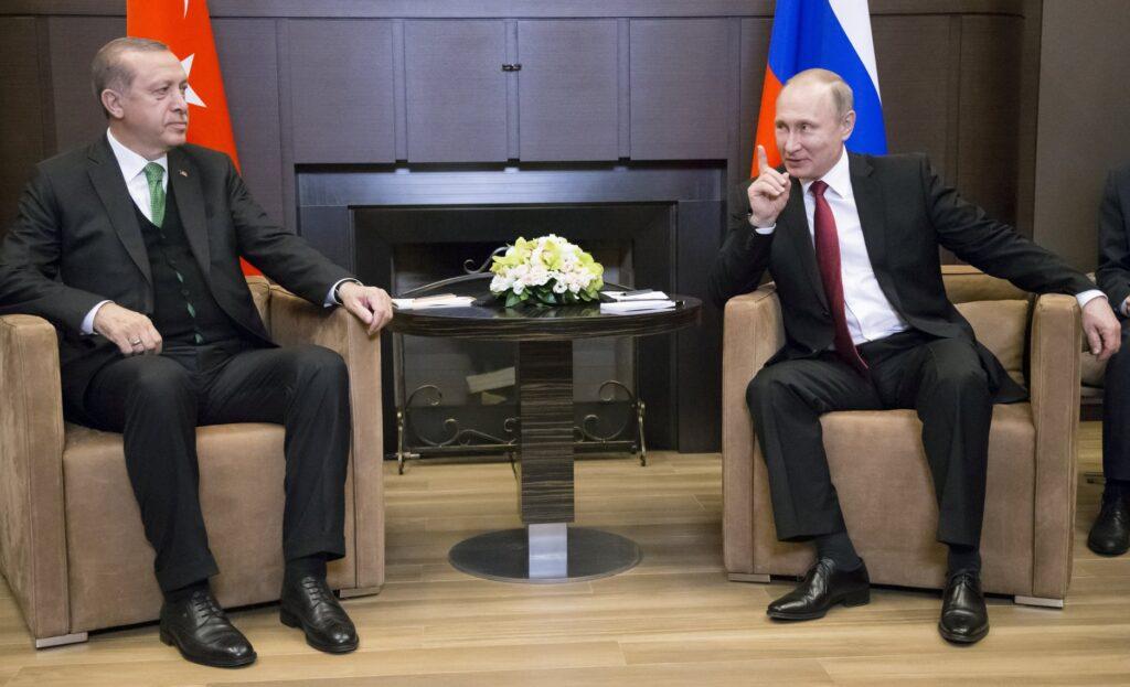 თურქეთის პრეზიდენტი სამუშაო ვიზიტით ხვალ რუსეთს ეწვევა