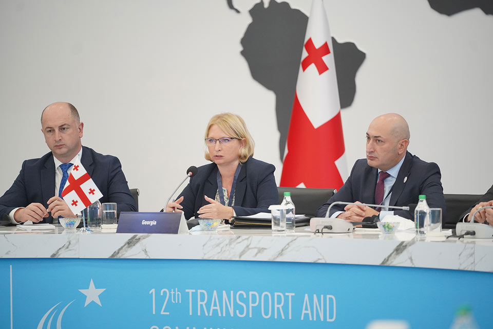 Georgian Economy Minister partakes in Transport Ministerial
