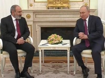 Кремль аҟны Владимир Путини Никол Ԥашиниани реиԥылара мҩаԥысуеит