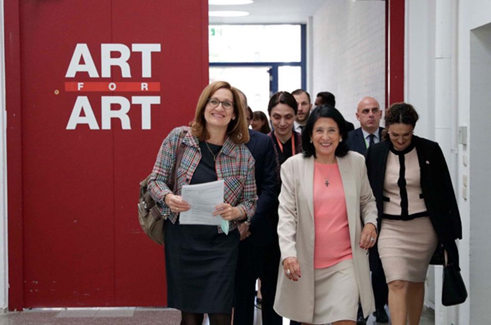 Վրաստանի նախագահն ավարտեց պաշտոնական այցը Ավստրիա
