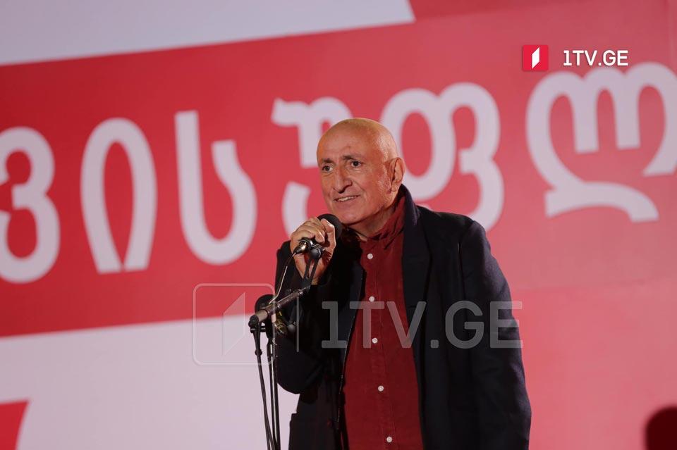 Anzor Meliya - Mixeil Saakaşvili qəhrəman prezidentdir, hansı da Gürcüstan tarixinə qızıl hərflərlə daxil olacaq